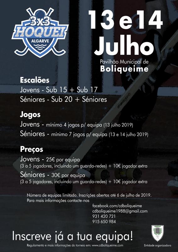 Torneio 3x3 Algarve - Boliqueime