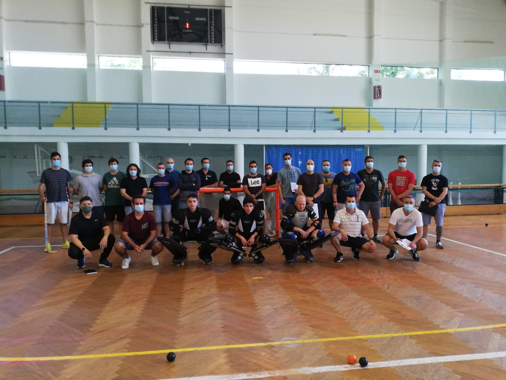 Curso de Treinadores de Hóquei em Patins - Grau I
